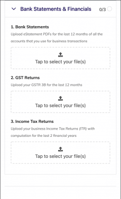 How to upload your business documents on the CreditEnable document portal - Step 4